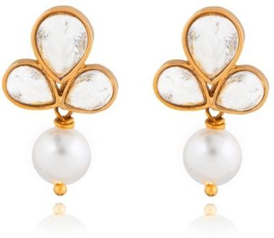Rooh Jewellery Brass Drop Earring