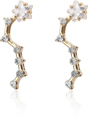 Svelte Unique Exclusive Zircon Alloy Drop Earring