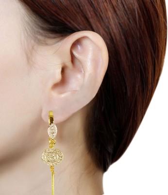 Prisha PPIPLCZER68 Zircon Copper Dangle Earring