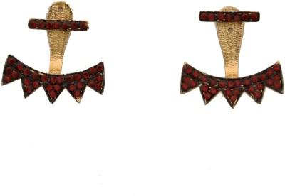 Arohi Jewells & Gems AJG106 Copper Earring Set