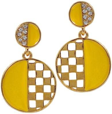 Maayra Darling Designer Crystal Alloy Drop Earring