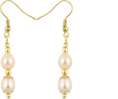 Pearlz Ocean Lovely Pearl Alloy Dangle Earring