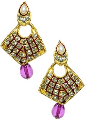 Shine My Life Tribus Alloy Chandbali Earring