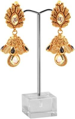 ushine ushine copper eirring Pearl Copper Chandbali Earring