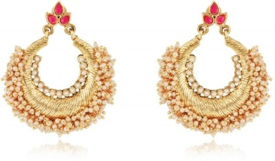 Rooh Jewellery Flower Bali Copper Dangle Earring