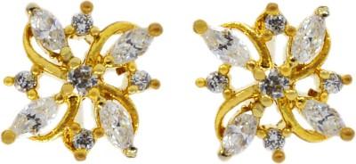 Silvesto India PG-717 Cubic Zirconia Stone Stud Earring