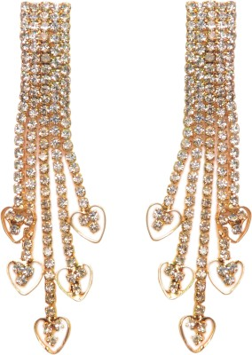 NM Products Hanging Gold Alloy Drop Earring