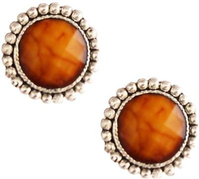 Beingwomen Elegant Brown Fashion Alloy Stud Earring