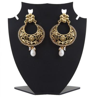 Aaina Home Decor Sparkling Copper Dangle Earring