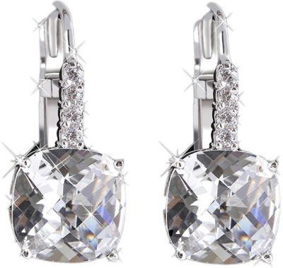 Amour Party Wear Crystal Alloy Drop Earring