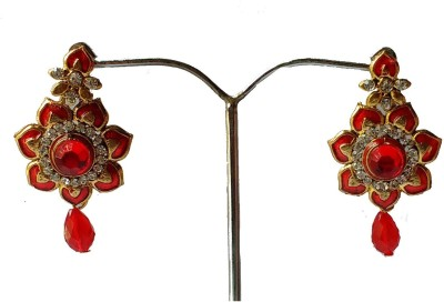 modifier RED CHARMING Crystal Alloy Drop Earring