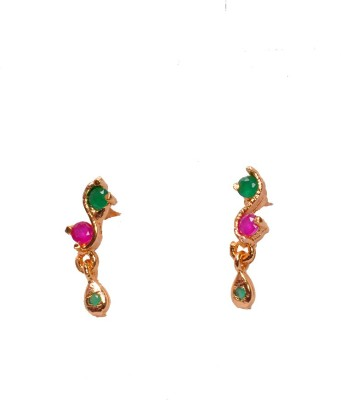 PFJ PFJ3044-EARRING Ruby Brass, Copper Drop Earring