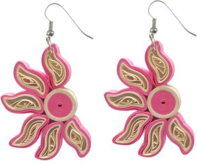 Charvee Blossom Paper Dangle Earring