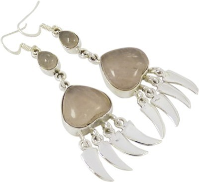 Miska Silver Beautiful Quartz Silver Dangle Earring