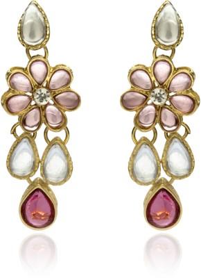 Veracious Jewellery Kudan Brass Dangle Earring