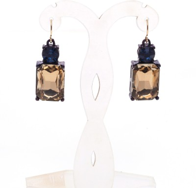 Just Pretty Things Gold Cubes Alloy Dangle Earring