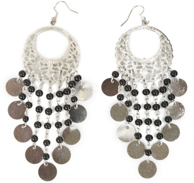 ChicKraft Beautiful Classical Design Alloy, Metal, Glass Chandbali Earring