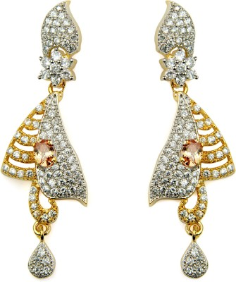 O,Womaniyah Fashionable Alloy Chandelier Earring