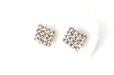 asa products sparkle Stainless Steel Stud Earring