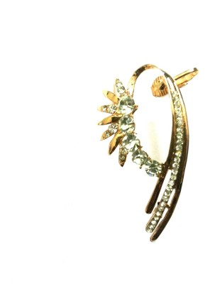 FashionFundamentals Contemporary Alloy Cuff Earring