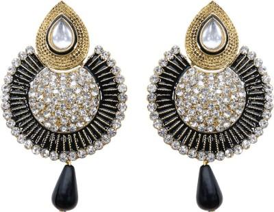 Mitthi Jewels Party Wear Alloy Jhumki Earring, Drop Earring