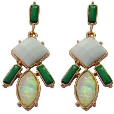 Trisha premium Beads Alloy Drop Earring