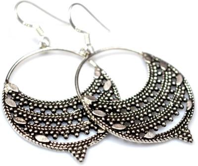 Anavaysilver Ear021 Sterling Silver Chandbali Earring
