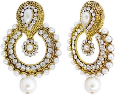 Yogada Ethnic050 Alloy Chandbali Earring