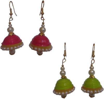 Sharun Collections Beautiful Ethnic Paper Earring Set