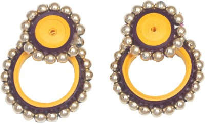 Kalarasika Beaded Ramleela Paper Stud Earring