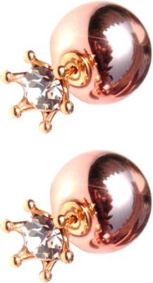 Edos Fashion Jewellery Brass Stick-on Earring