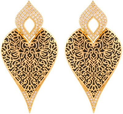 Beautiart BA1_BAEAR1143 Cubic Zirconia Alloy Drop Earring