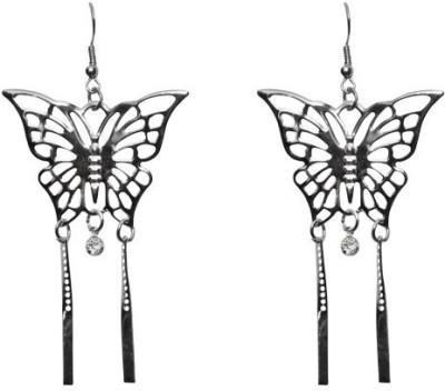 Lamba Exoticos Butterfly Eligent Metal Dangle Earring