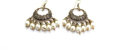 Zidox Zidox beautiful ethnic Brass Dangle Earring