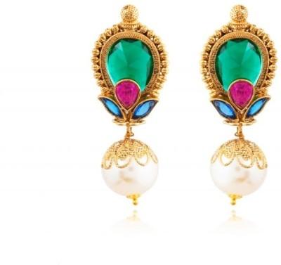 Rooh Jewellery Brass Dangle Earring