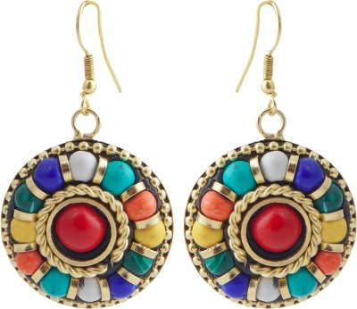 Jewels and Deals FE-104 Brass Dangle Earring