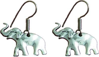Anamis Elephant Shape Aluminum Dangle Earring