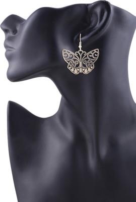 Arittra Arittra Beautiful Butterfly Earring German Silver Dangle Earring