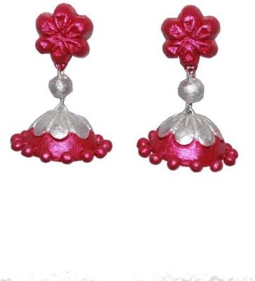 Aanya Creations Handamde Fashion Jewellery Ceramic Jhumki Earring
