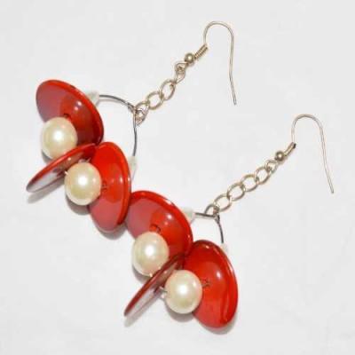 Greer Gloriana Acrylic Dangle Earring