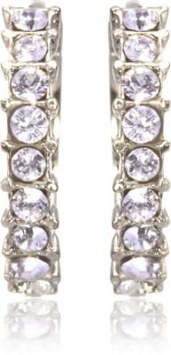 Eclat 514267R Swarovski Crystal Alloy, Brass Huggie Earring