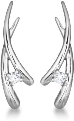 JDX Swarovski Swarovski Zirconia Silver Stud Earring