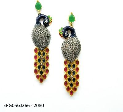 E-Designs ERG05GJ265 - 848 Cubic Zirconia Alloy Drop Earring
