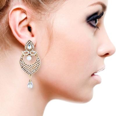 Senoritafashion Trendy Alloy Chandelier Earring