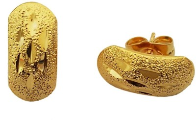 Mehrunnisa 24k Gold Tone Stud For Girls Metal Stud Earring