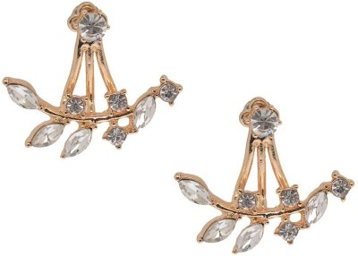 Alankruthi Contemporary Copper Stud Earring