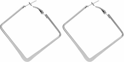 Eternz Suave Collection Metal Hoop Earring