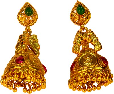 Amarsons Pearls Alloy Jhumki Earring