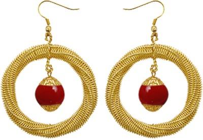 Kenway Retail Festive Crew Brass Dangle Earring