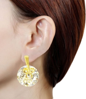 Prisha PPIPLCZER78 Zircon Copper Stud Earring